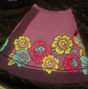 Women's purple Odille skirt